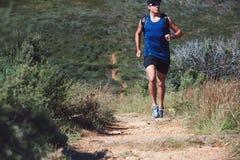 Человек следа фитнеса стоковая фотография