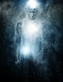 Человек с искусством тела Стоковое Изображение