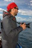Человек с камерой Стоковое Изображение RF