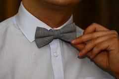 Человек с натянутым луком Стоковое фото RF