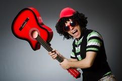 Человек с смешной стрижкой Стоковое фото RF