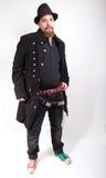 Человек с элегантным пальто Стоковое Изображение RF