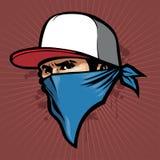 Человек с bandana Стоковые Изображения