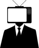 Человек телевизора Стоковое Фото