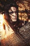 Человек ужаса Стоковая Фотография RF