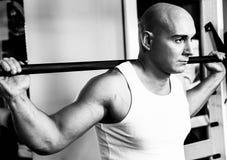 Человек фитнеса Стоковые Фото