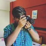 Человек фотографии Стоковое Изображение RF