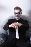 Человек хеллоуин Стоковое фото RF