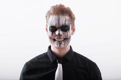 Человек хеллоуин Стоковое Изображение RF