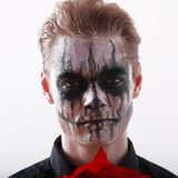 Человек хеллоуин Стоковое Изображение