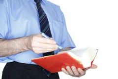 Человек читает Стоковые Фотографии RF