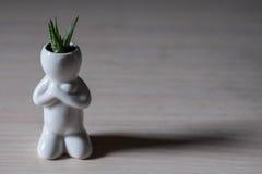 Человек Eco Стоковое Изображение RF