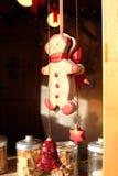 человек gingerbread маленький Стоковое Фото