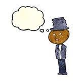 человек hobo шаржа смешной с пузырем мысли бесплатная иллюстрация
