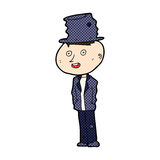 человек hobo шуточного шаржа смешной иллюстрация штока