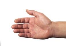 человек s руки Стоковое Изображение RF