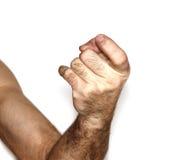 человек s руки Стоковые Изображения