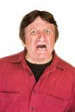 человек screaming Стоковые Фотографии RF