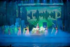 Человеческая богиня--Историческая драма песни и танца стиля Стоковая Фотография RF