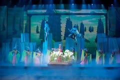 Человеческая богиня--Историческая драма песни и танца стиля Стоковое Фото