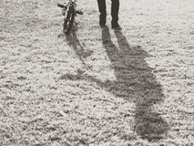 Человеческая езда Стоковая Фотография