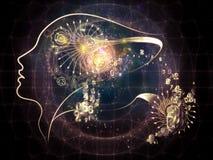 Человеческая иллюзия Стоковое Изображение