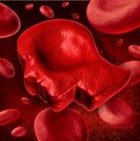 Человеческая кровь иллюстрация вектора