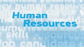 Человеческие ресурсы Стоковые Фото