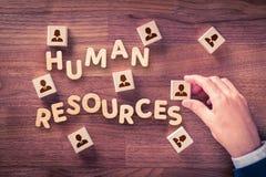 Человеческие ресурсы HR стоковые фотографии rf
