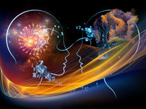 Человеческие технологии Стоковое фото RF