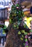 Человеческий уличный исполнитель статуи стоковые изображения rf