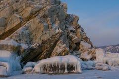 Челюсть горы и льда стоковое изображение rf