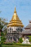Чиангмай, северный Таиланд: висок слона Стоковые Фотографии RF