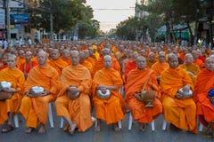 ЧИАНГМАЙ, ТАИЛАНД - 26-ОЕ ДЕКАБРЯ 2015: Много тайские Стоковые Изображения RF