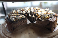 Чизкейк шоколада стоковое фото rf