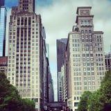 Чикаго городской Стоковая Фотография RF