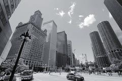 Чикаго ретро Стоковые Изображения RF