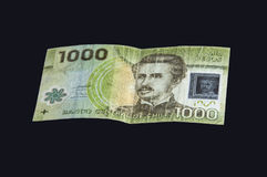 Чилийская валюта Стоковая Фотография