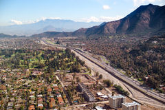 Чили santiago Стоковое фото RF