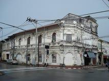 Чино-португальская архитектура Стоковое фото RF