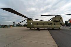 Чинук Боинга CH-47 вертолета перехода армия мы Стоковые Фото