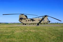 Чинук Боинга CH-47F от военновоздушной силы Соединенных Штатов Стоковые Изображения RF