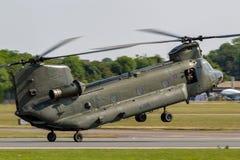 Чинук HC RAF Боинга военно-воздушных сил Великобритании вертолет ZA714 двойного engined тяжелого подъема 2 воинский Стоковое Фото