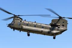 Чинук HC RAF Боинга военно-воздушных сил Великобритании вертолет ZA714 двойного engined тяжелого подъема 2 воинский Стоковое Изображение RF