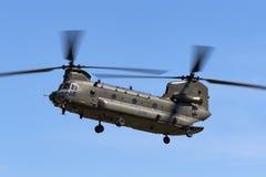 Чинук HC RAF Боинга военно-воздушных сил Великобритании вертолет ZA714 двойного engined тяжелого подъема 2 воинский Стоковая Фотография RF