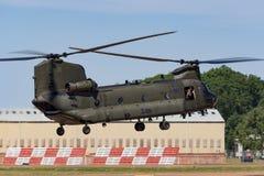 Чинук HC RAF Боинга военно-воздушных сил Великобритании вертолет ZA714 двойного engined тяжелого подъема 2 воинский Стоковые Фотографии RF