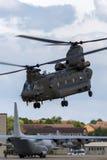 Чинук HC RAF Боинга военно-воздушных сил Великобритании вертолет ZA714 двойного engined тяжелого подъема 2 воинский Стоковая Фотография
