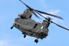 Чинук HC RAF Боинга военно-воздушных сил Великобритании вертолет ZH777 двойного engined тяжелого подъема 2 воинский Стоковые Изображения