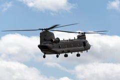 Чинук HC RAF Боинга военно-воздушных сил Великобритании вертолет ZH777 двойного engined тяжелого подъема 2 воинский Стоковое Изображение