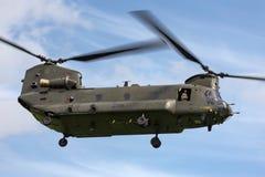 Чинук HC RAF Боинга военно-воздушных сил Великобритании вертолет ZH777 двойного engined тяжелого подъема 2 воинский Стоковая Фотография RF